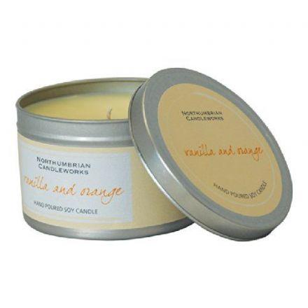 Vanilla and Orange Small Soy Candle